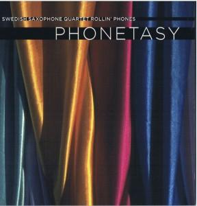 Saxophone quartet Rollin Phones. Marie Samuelsson Siren for Saxophone Quartet (1996) [6:51]